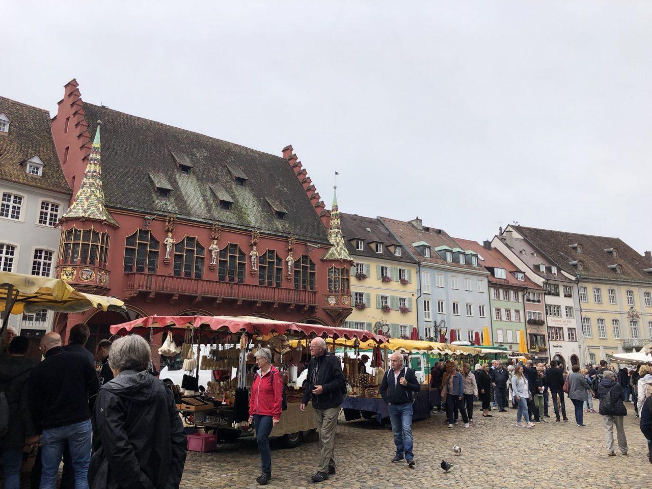 Freiburg Muensterplatz