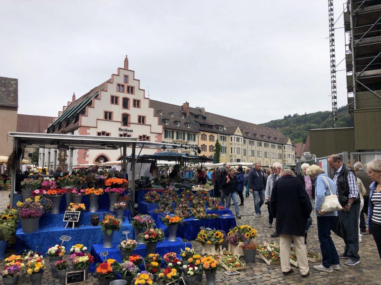 Freiburg Market place, Münsterplatz