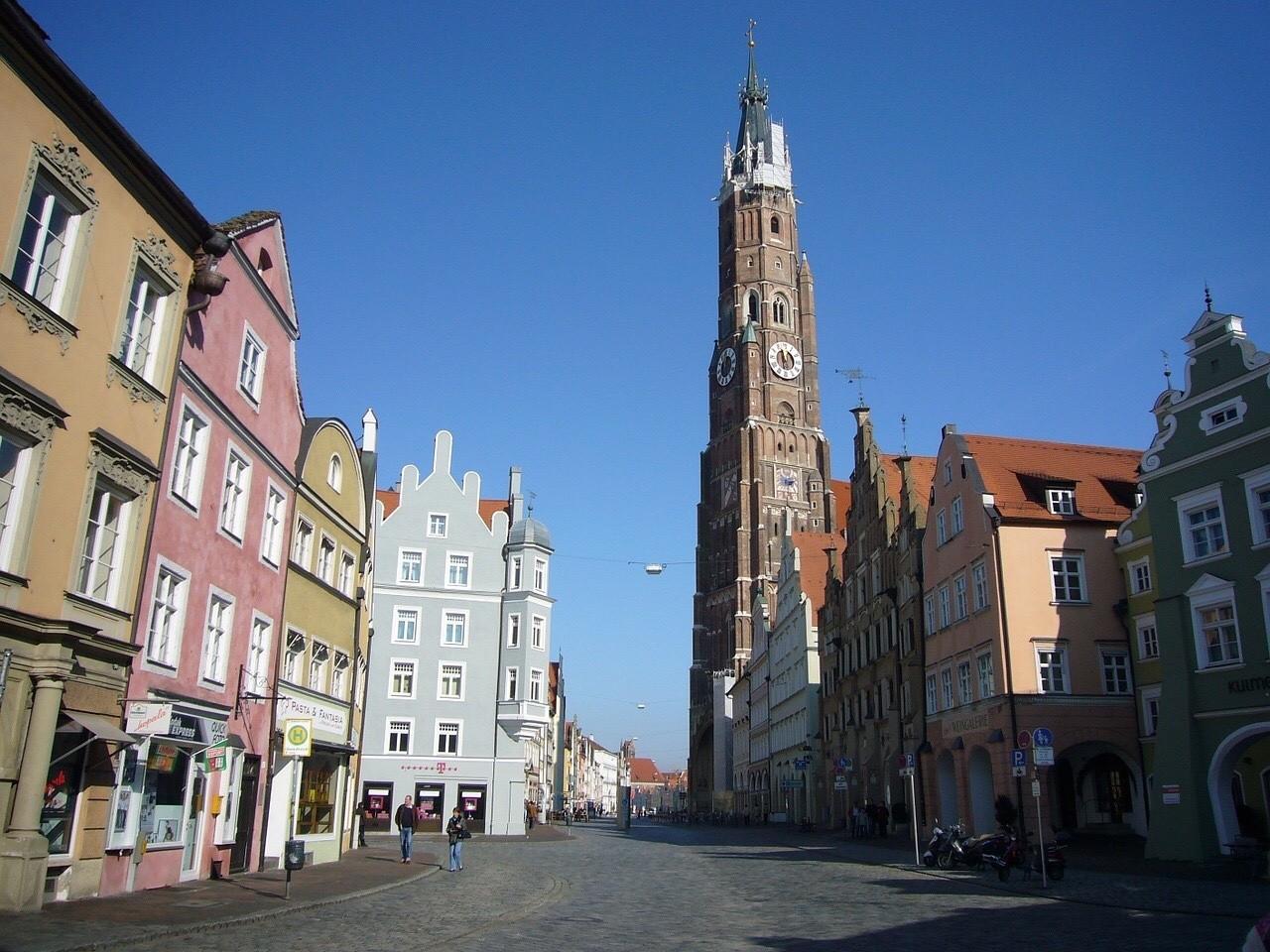 Landshut, St. Martin South Bavaria, Martinskirche