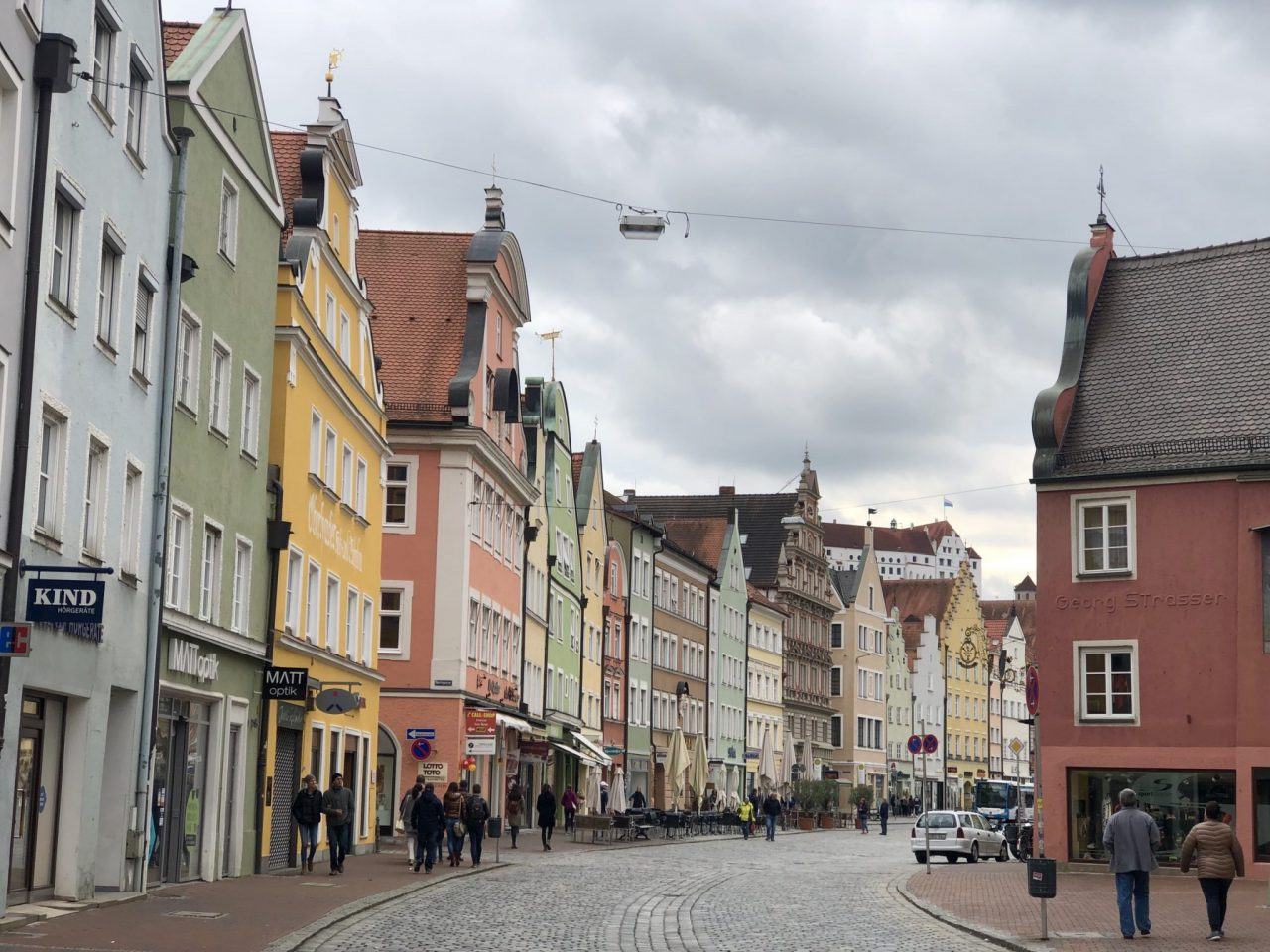 Landshut, Bavaria, Altstadt
