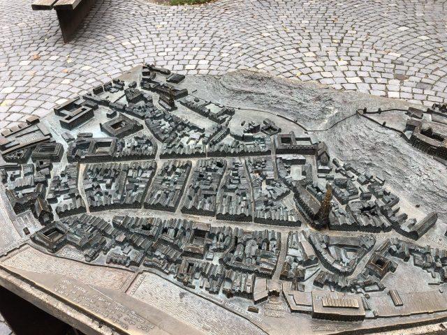 City map near Landtor, Landshut
