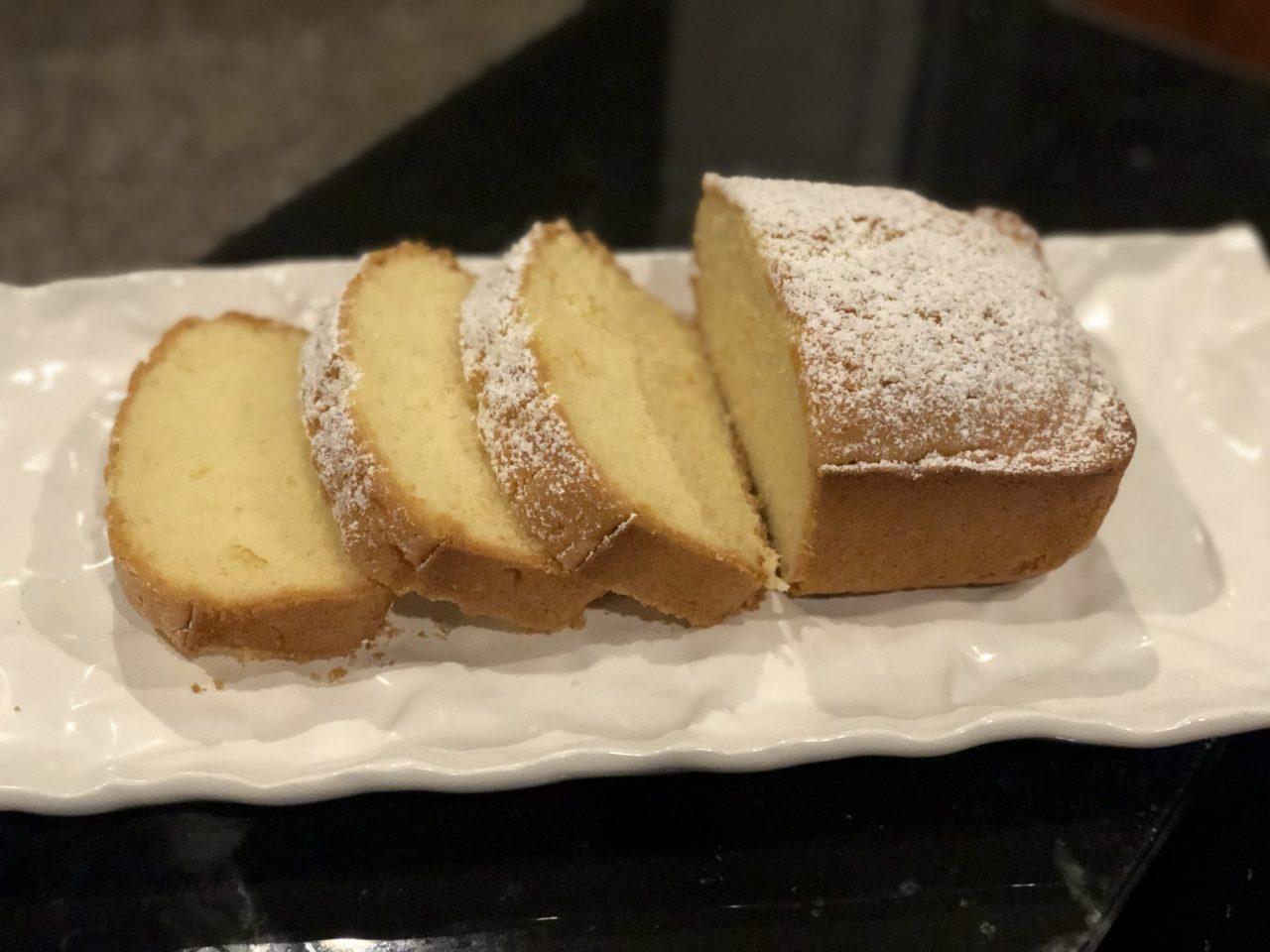 Sandkuchen, German pound cake