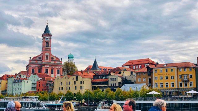 Passau boat ride, Schifffahrt