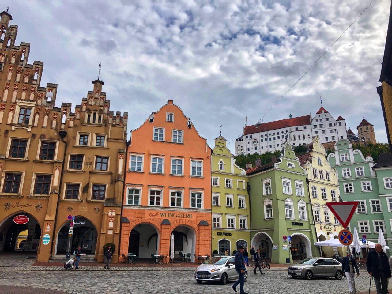 Landshut, Bavaria streetscape