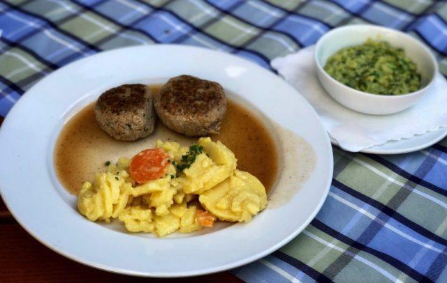 German meat patties, Fleischkräpfle , Frikadellen, Buletten