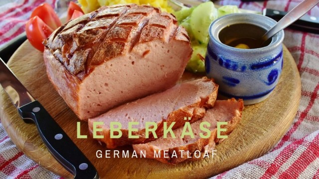 Leberkaese, Fleischkäse, German meat loaf