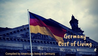 Compiled by Americans living in Germany, Cost of living in Germany