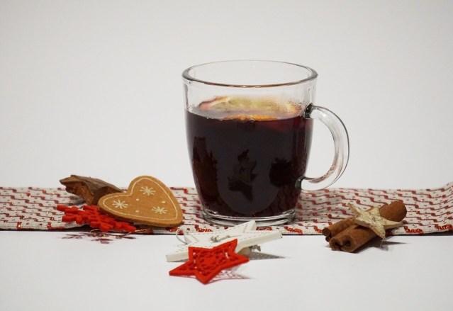 Mulled red wine or Glühwein