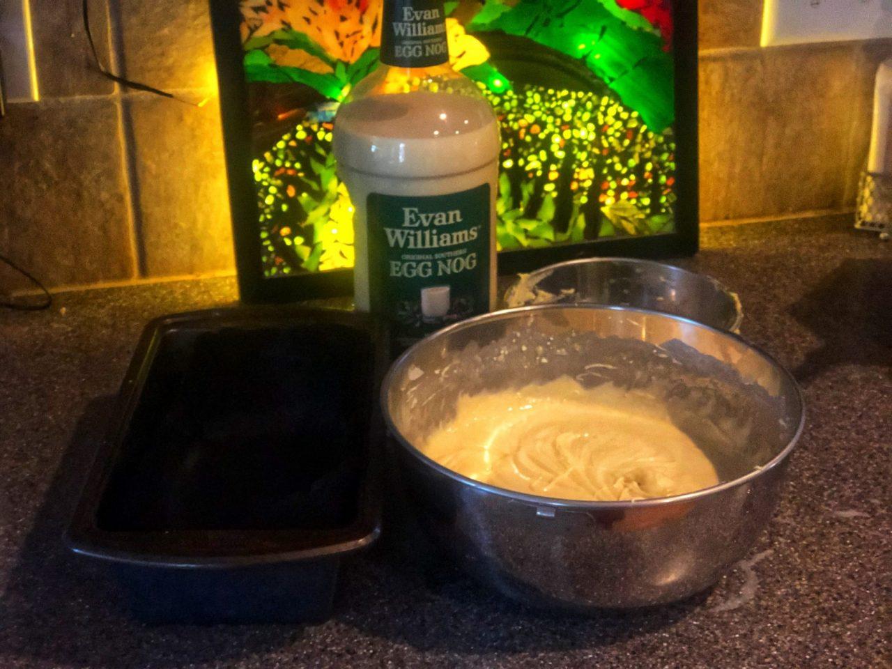 Egg Liquor cake, Eierlikörkuchen preparation