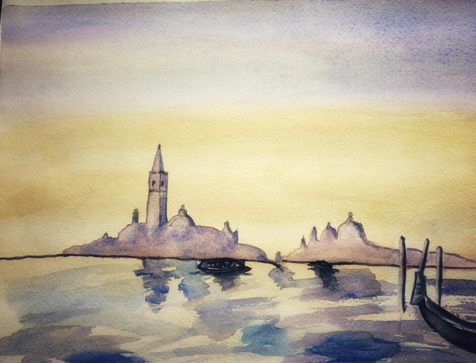 Venice, Italy painting by GermaniaDesign.com