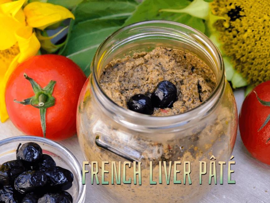 French Liver Pate, fine Liverwurst, Feine Leberwurst mir Cognac