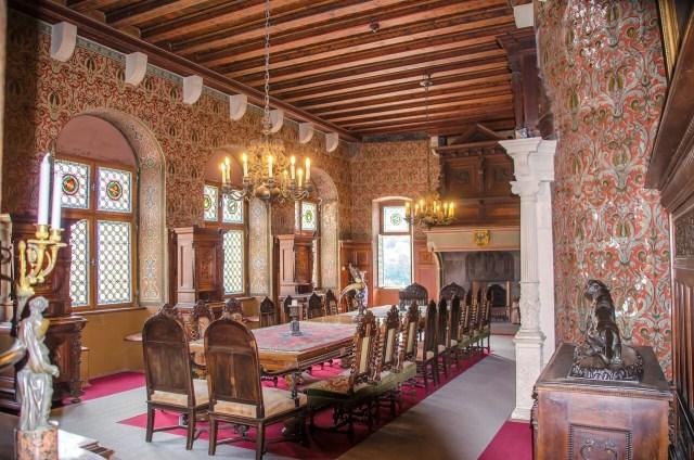 Cochem castle interior