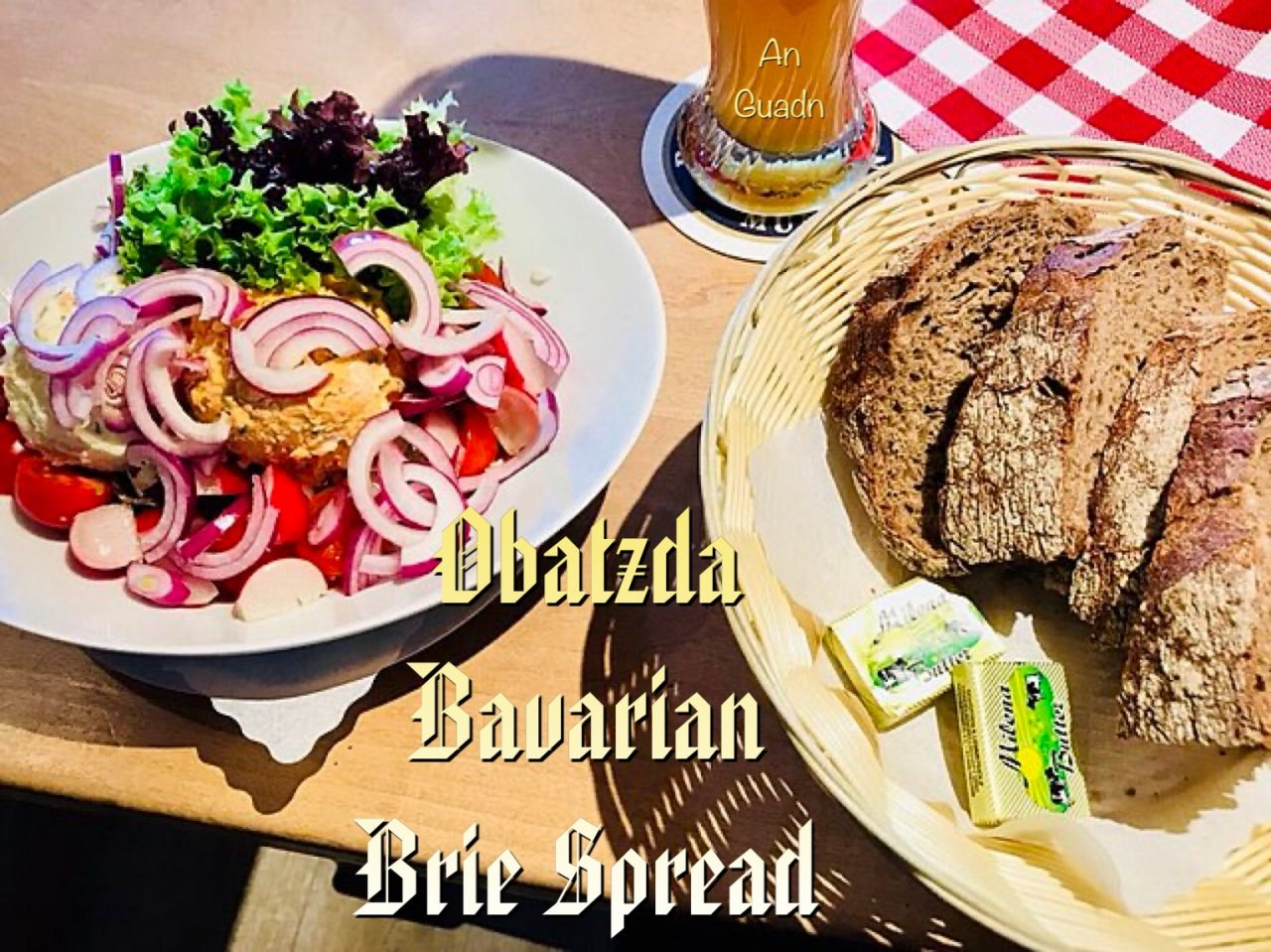 Obatzta, or Brie spread
