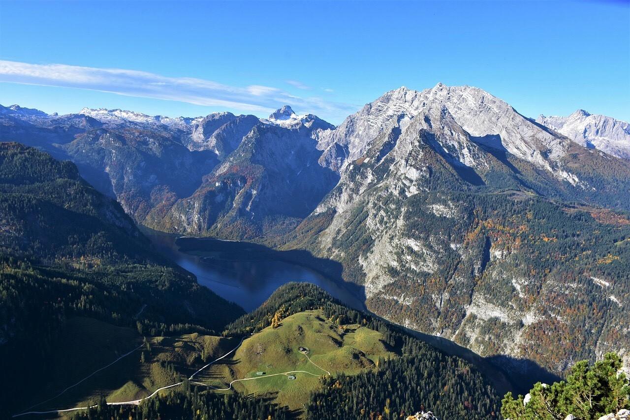 Berchtesgaden mountain range, Koenigssee