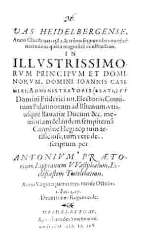 Fassbuch Poem 1595 (per Wikimedia)