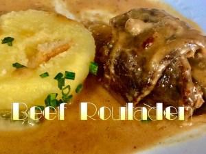 Beef Rouladen, German Rouladen