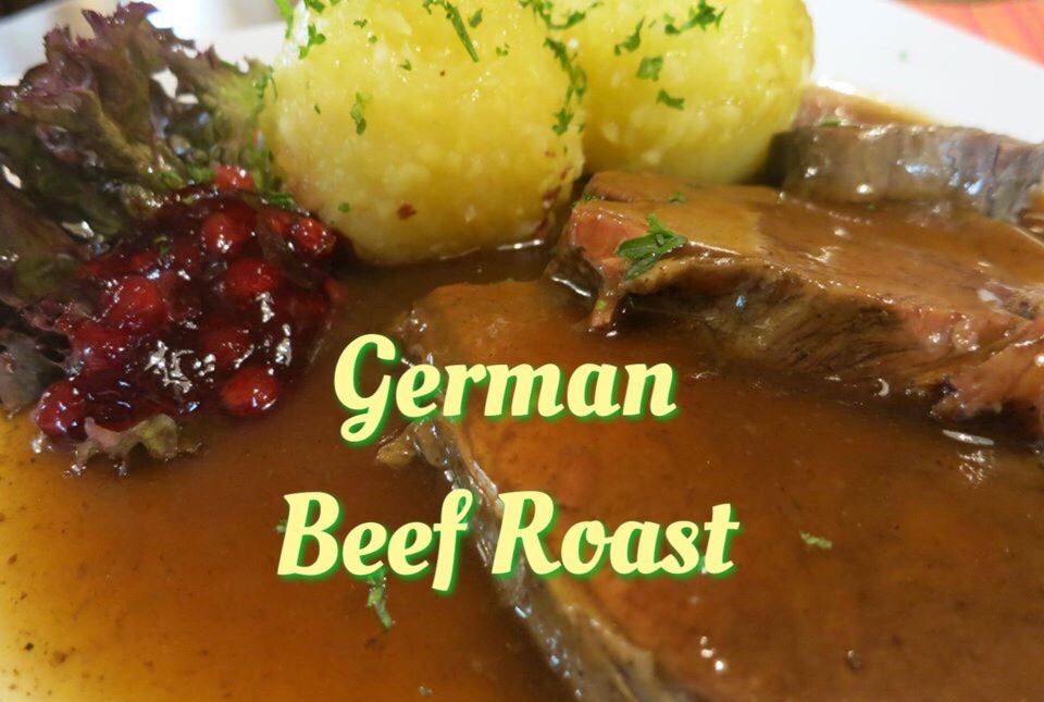 Rindsbraten or German Beef Roast