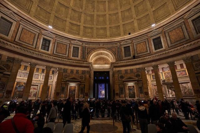 Pantheon in Rome interior