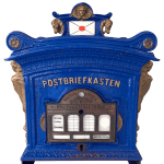 Postbriefkasten, historic German mailbox