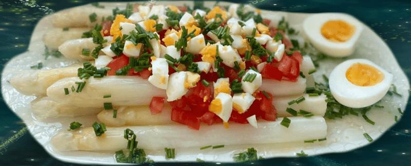 White Asparagus, Spargel