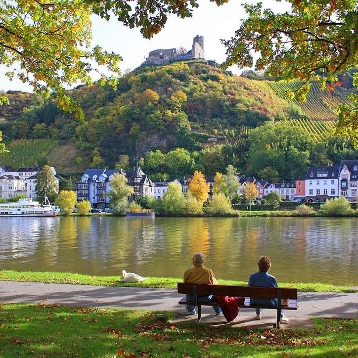 Bernkastel-Kues, Mosel River, Rhineland