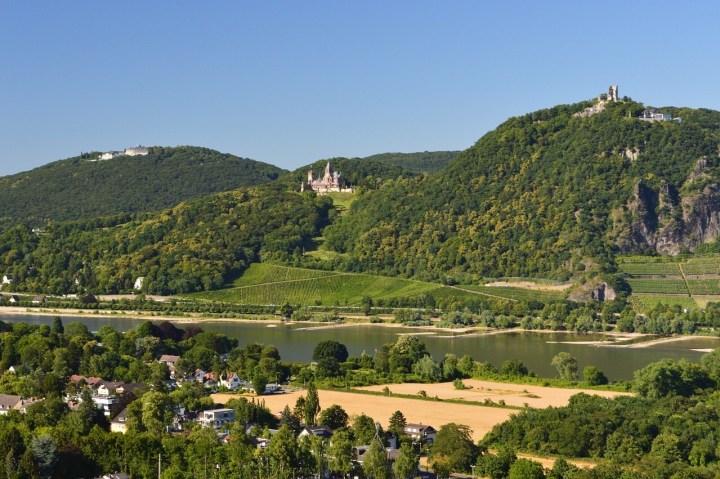 Drachenburg, Drachenfels Castle, Königswinter view