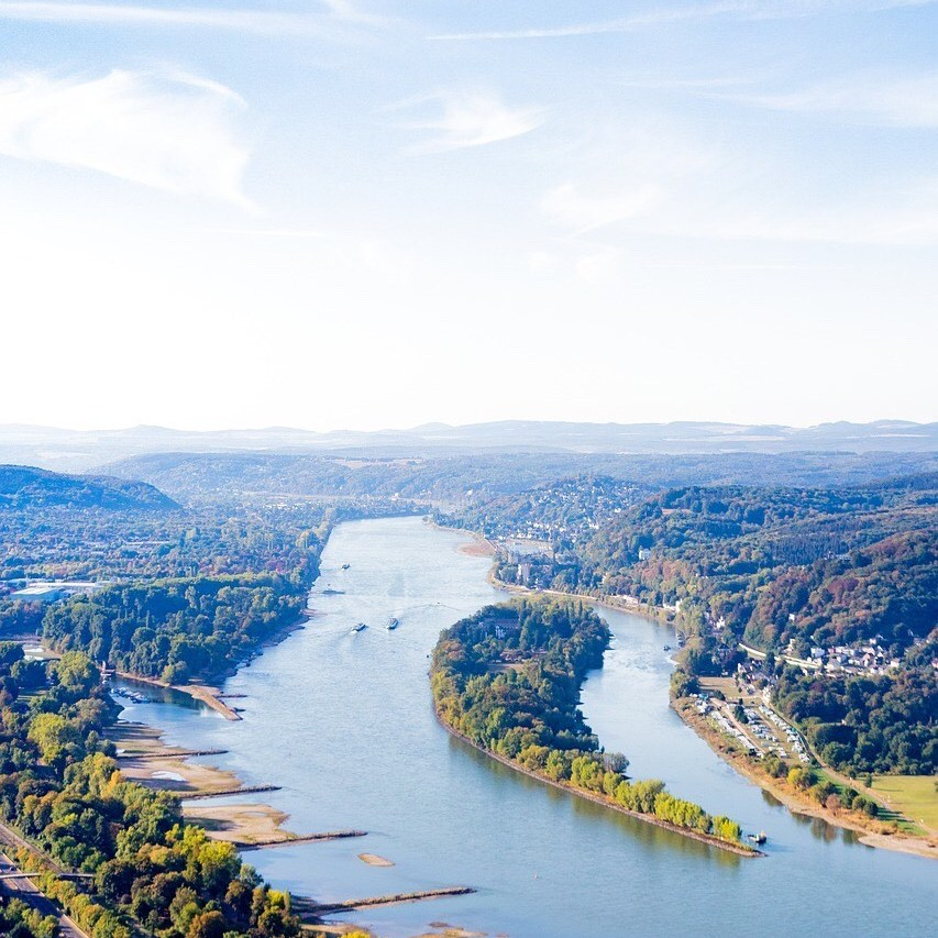 Drachenburg Castle, Königswinter view to Rhine valley