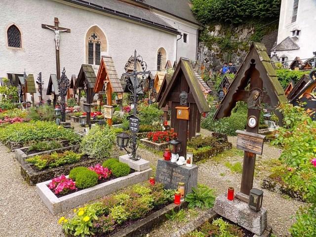 Hallstatt, Austria grave yard