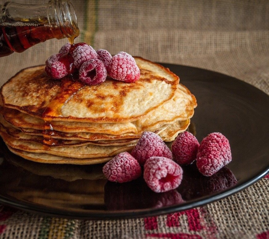 Crepes. French pancakes