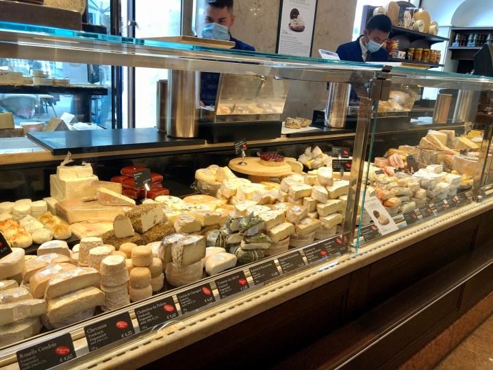 Dallmayr Munich delicatesse, cheeses