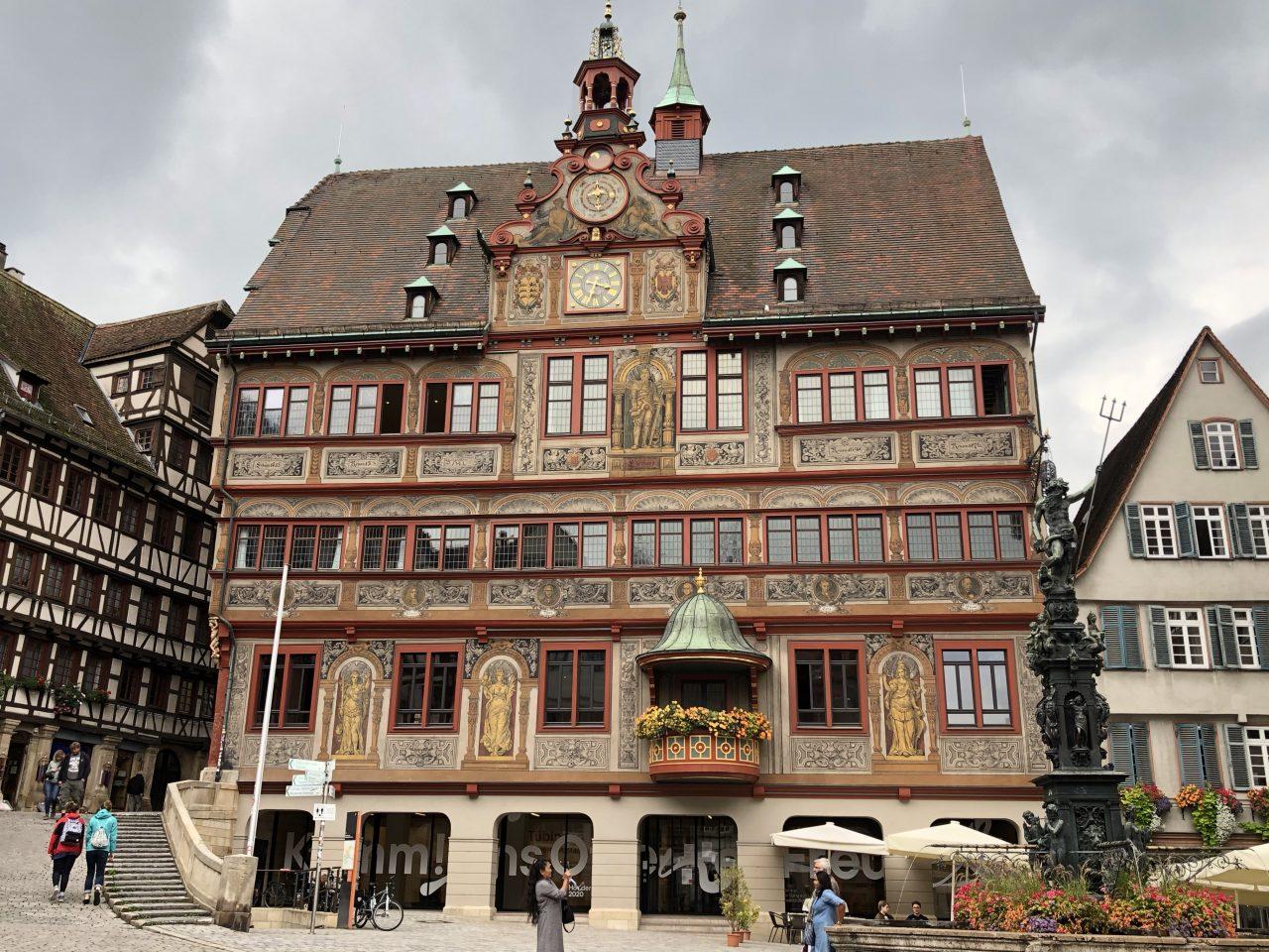 Tuebingen Marktplatz