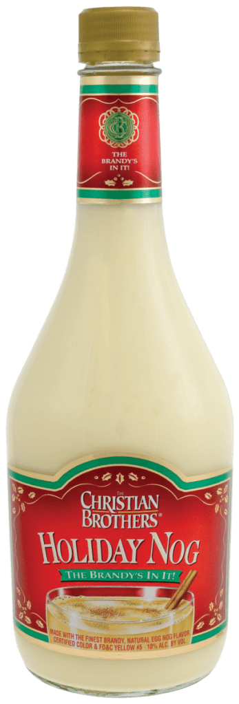Christian Brothers Holiday Eggnog Liquor