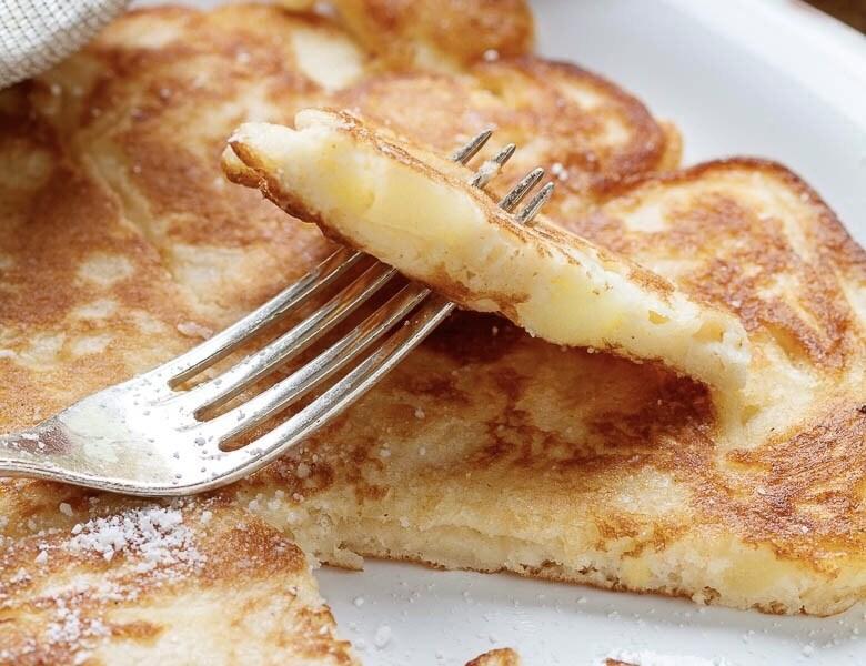Apfelkräpfchen, German Apple Pancakes
