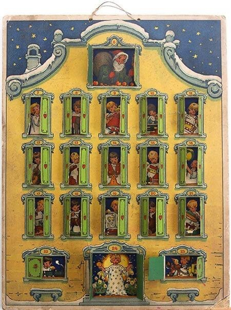 Gerhard Lang German Christmas calendar