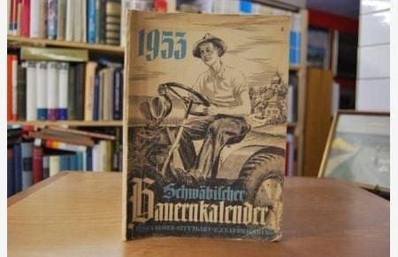 Bauernkalender, German Almanac 1953