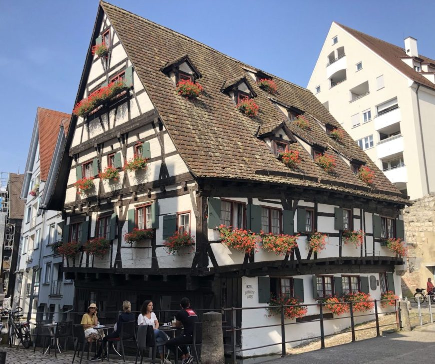 """Ulm Crooked House"""" (Schiefes Haus)"""