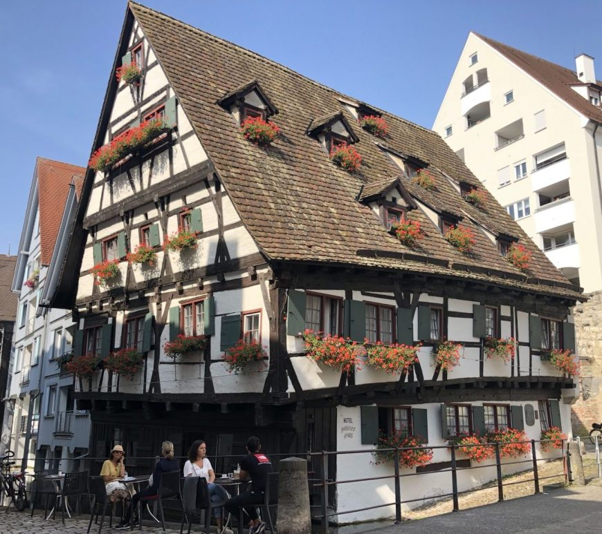 "Ulm Crooked House"" (Schiefes Haus)"