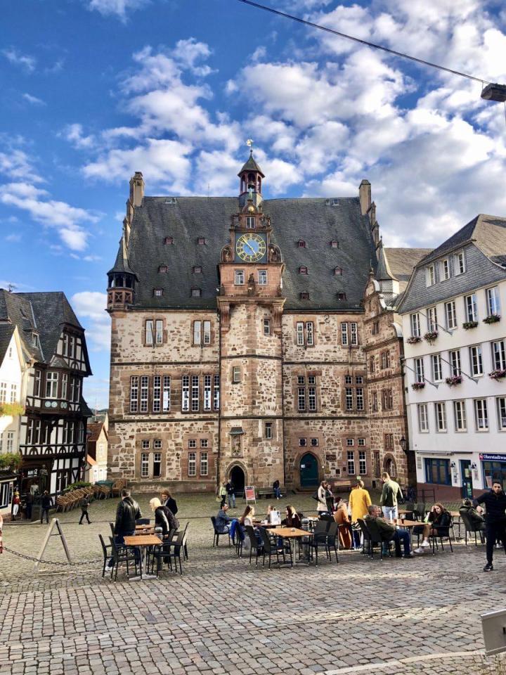 Rathaus, City hall Marburg