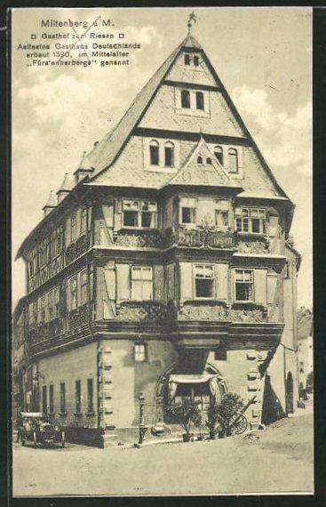 "Miltenberg ""Zum Riesen"" Guesthouse 1900"