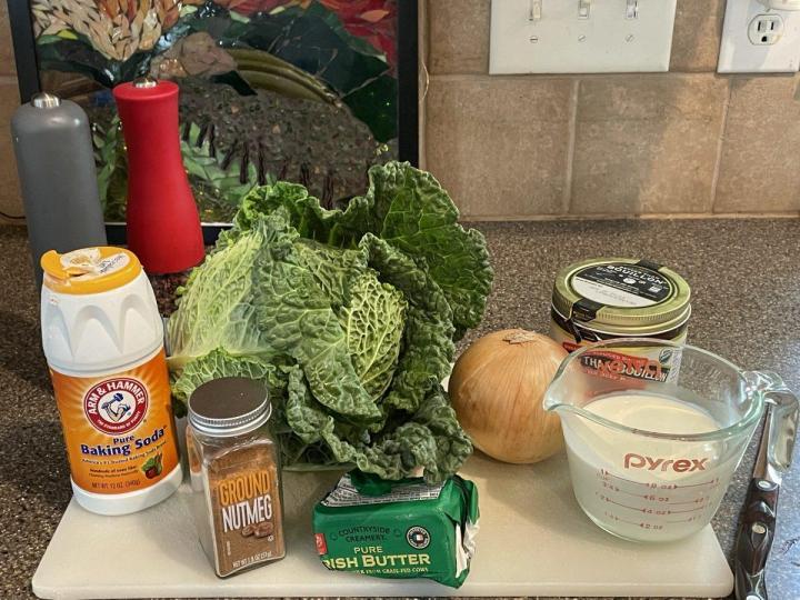 Wirsinggemüse, Savoy cabbage ingredients