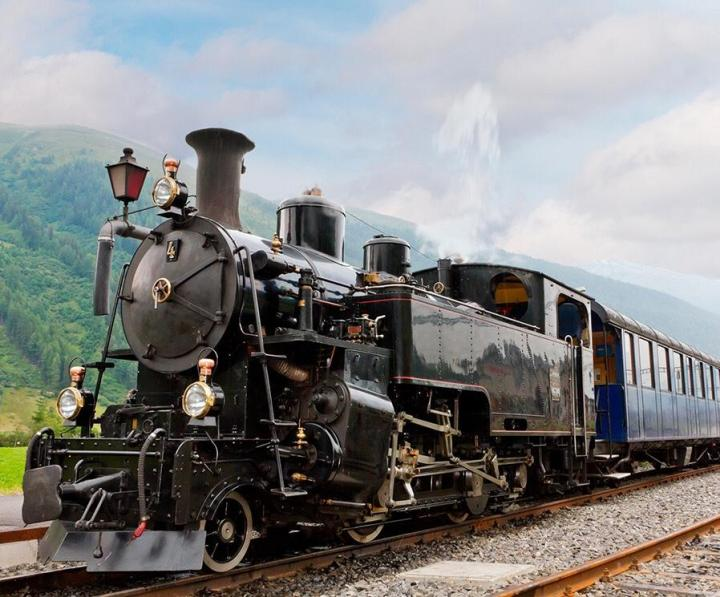 Antique trains
