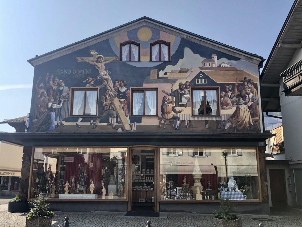 Oberammergau Lüftmalerei
