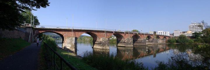 Römerbrücke, Roman bridge in Germany