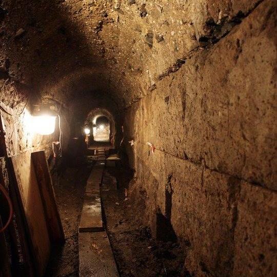 Roman underground sewer Cologne
