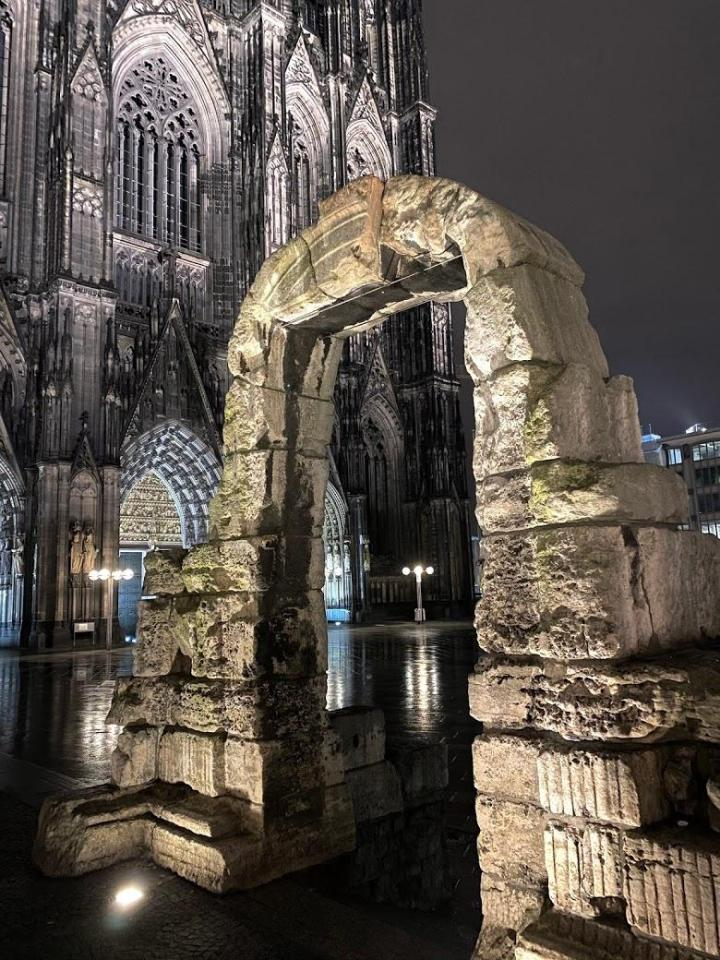 Roman gate Cologne
