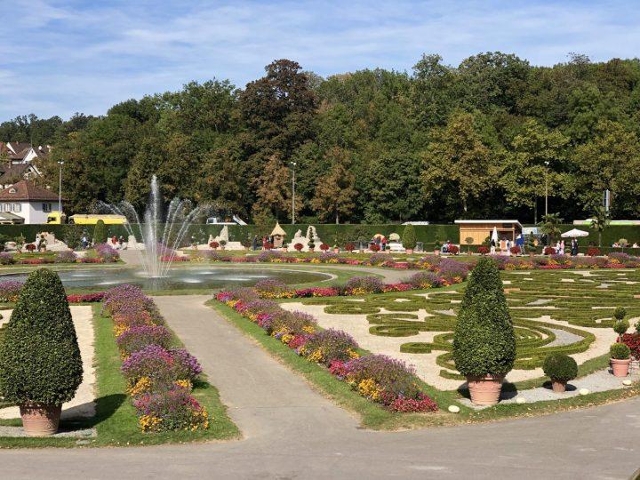 Pumpkin Festival Ludwigsburg gardens near Stuttgart