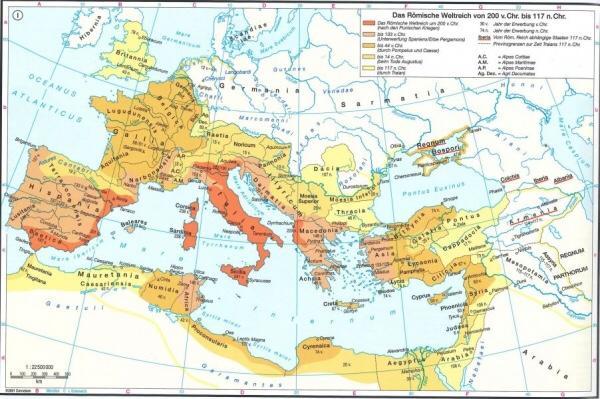 Roman Empire 300 AD