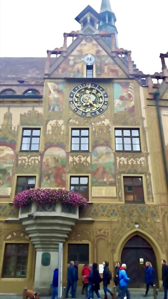 Ulm Rathaus, City hall