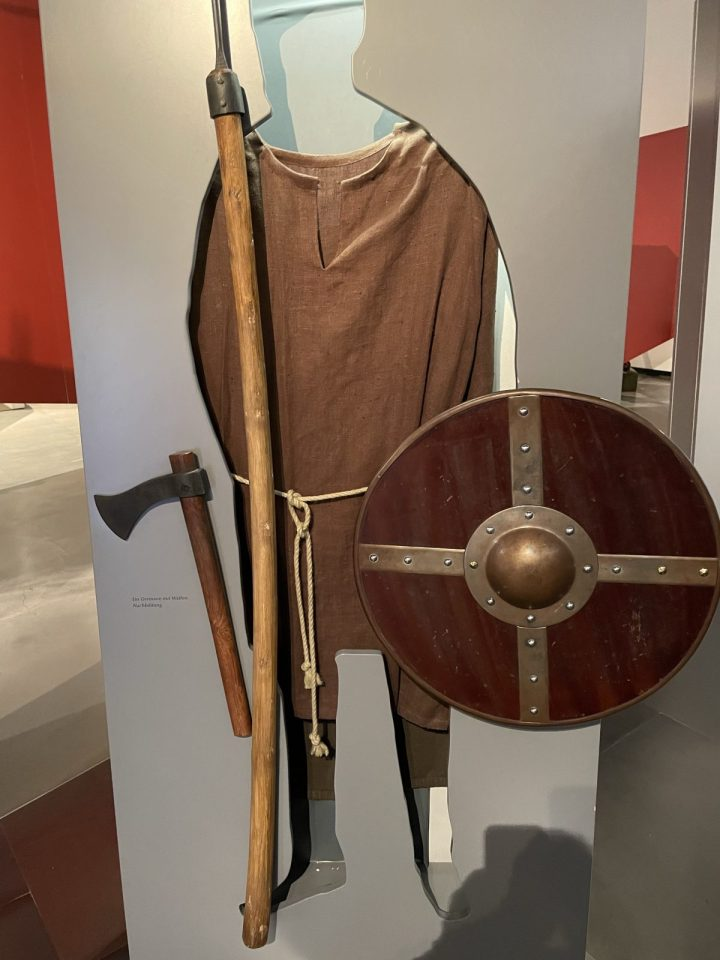 Germanic soldier