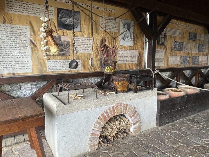 Roman Bread baking oven